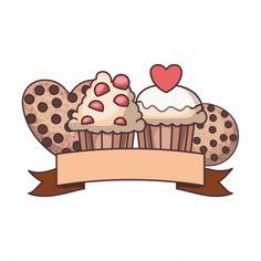 Baking Logo Design, Cake Logo Design, Logo Online Shop, Cute Bakery, Cupcake Logo, Baby Girl Hair Accessories, Food Graphic Design, Bakery Logo, Logo Background
