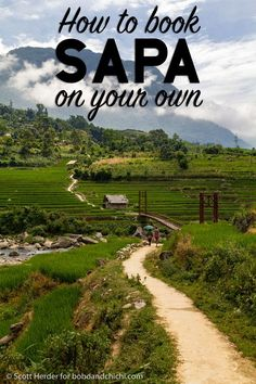 Postcards from a Passport - Bobo and ChiChi - Trekking through the mountains and rice terraces of Sapa, Vietnam Vietnam Travel Guide, Asia Travel, Travel Tips, Travel Destinations, The Beautiful Country, Beautiful Places, Visit Vietnam, Wanderlust, Ultimate Travel