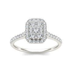 <li>diamond engagement ring</li> <li>10k white gold jewelry</li><li><a href='http://www.overstock.com/downloads/pdf/2010_RingSizing.pdf'><span class='links'>Click here for ring sizing guide</span></a></li>