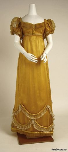 Largest one of this dress i have seen. Гардероб леди 19 века – часть вторая…