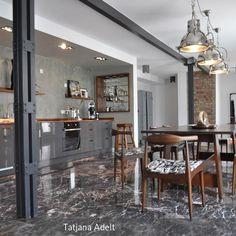 Wohnküche Industrial Glamour 130m² Loft Im Stil Der 20er Jahre Zu Mieten