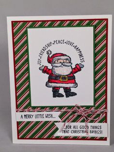 Klompen Stampers (Stampin' Up! Demonstrator Jackie Bolhuis): Get YOUR Santa On