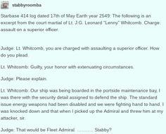 Humans Are Weird / Space Australia An Attack On Fleet Admiral Stabby