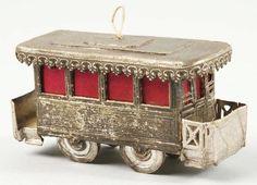 Dresden Street Car Christmas Ornament.