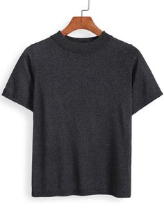 Round Neck Slim T-shirt