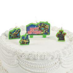 Teenage Mutant Ninja Turtles Birthday Candles - OrientalTrading.com
