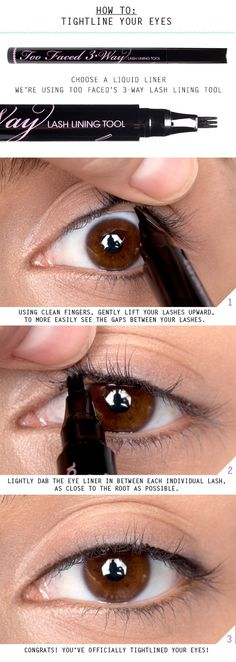How to Tightline Eyes ... on a side note, it's cool to see the photographer in the reflection of the eye.