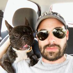 Nico y yo sufrimos por el calor... y tú!? #partner #friend #frenchie #frenchbulldog #bulldogfrances #lovemydog #doggieperson