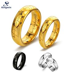 One Ring of power Gold Silver Black the Lord of rings women finger wedding band fashion jewelry accessory wholesale drop ship♦️ SMS - F A S H I O N  http://www.sms.hr/products/one-ring-of-power-gold-silver-black-the-lord-of-rings-women-finger-wedding-band-fashion-jewelry-accessory-wholesale-drop-ship/ US $2.61