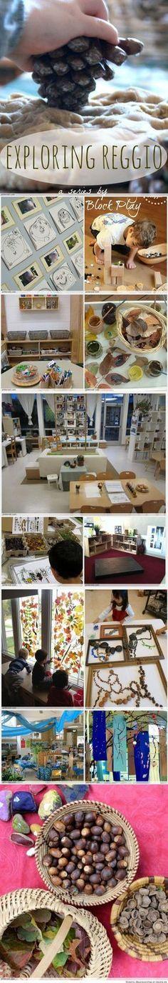 Reggio Emilia inspired classroom Mais