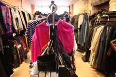 Coiffeur : one of my favourite second-hand clothes shop in Le Marais, in Paris