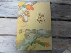 Vintage Current Just A Note Langford Mice with Acorns Fall Gathering Cards Envelopes New Old Stock Paper Ephemera by EvenTheKitchenSinkOH on Etsy