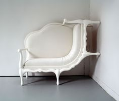 An you thought only bugs and spiders could climb the walls ... Lila Jang show's furniture how it's done!