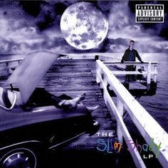 """Ik op het album """"slim shady lp"""" van Eminem"""