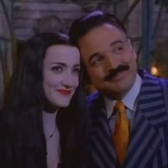 Morticia and Gomez for new addams family
