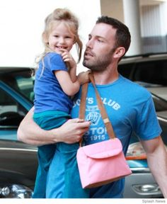Celebrity dads - Ben Affleck #dads...nothing sexier than a good father