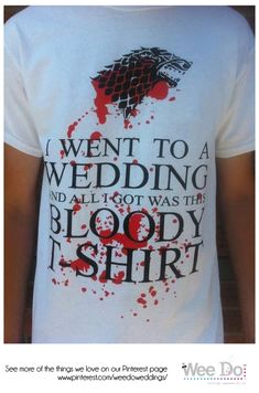 Wee Do loves: Game of Thrones Wedding - Wee Do Weddings | Edinburgh | #gameofthrones #wedding #edinburgh