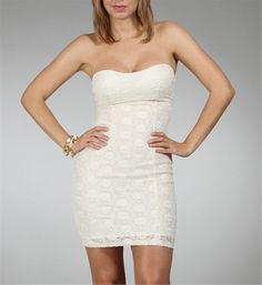 Ivory Sparkly Dress - Windsor