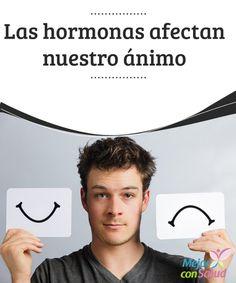 Las hormonas afectan nuestro ánimo El estrés, los problemas o la cantidad de trabajo pueden cambiar nuestro humor, pero también hay cuestiones internas que influyen en el mismo.