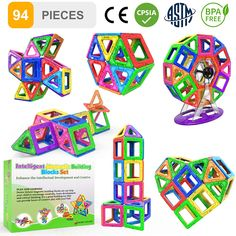 Educational Toys for Kids Children. #magneticbuildingblocks  #magneticbuildingblock  #magneticbuildingblocs Games For Boys, Outdoor Games For Kids, Toys For Girls, Kids Toys, Children's Toys, Educational Toys For Kids, Learning Toys, Magnetic Building Blocks, Book Libros