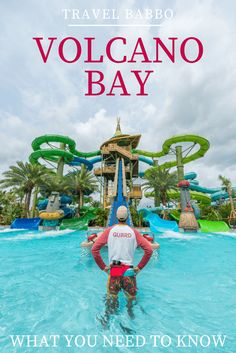 Volcano Bay at Universal Orlando Resort: What You Need to Know - Travel Orlando - Ideas of Travel Orlando - Everything you need to know about Universal Orlando's Volcano Bay including ride descriptions where to stay and what I liked best. Orlando Travel, Orlando Vacation, Family Vacation Destinations, Florida Vacation, Florida Travel, Disney Vacations, Vacation Ideas, Orlando Disney, Downtown Disney