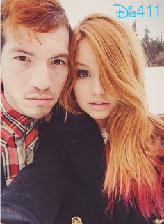 Photo: Debby Ryan And Josh Dun In The Snow