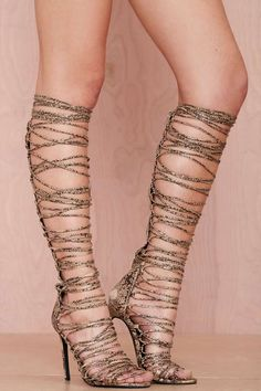 Jeffrey Campbell Advent Lace-Up Leather Heel | Shop What's New at Nasty Gal