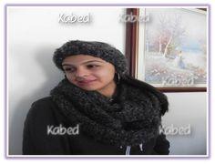 bufandas y headbands heachas a mano en crochet