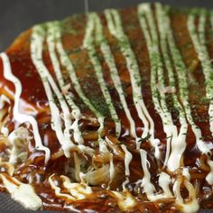 See interesting content from Tasty Japan directly on Timeline. Okonomiyaki Rezept, Snack Recipes, Dessert Recipes, Cooking Recipes, Cake Recipes, Helathy Food, Korean Food, Tasty Dishes, Desert Recipes