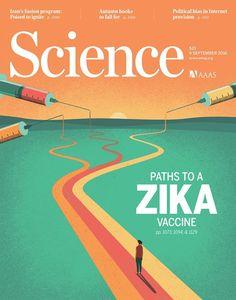 Davide Bonazzi - Paths to a Zika vaccine. Client: Science magazine. #conceptual #editorial #illustration #virus #zika #vaccine #science #medicine www.davidebonazzi.com
