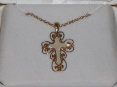 10K WITH 1/20 14KT GOLD FILLED CHAIN* 50% OFF  Free and Fast Shipping