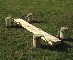 Wobble Board wooden agility equipment for schools Caledonia Play UK is part of Backyard for kids - Our wooden wobble board offers a fun element to the playground or can be used as part of an agility trail Great for kids of all ages and abilities Kids Outdoor Play, Outdoor Play Areas, Kids Play Area, Backyard For Kids, Backyard Ideas, Childrens Outdoor Play Equipment, Childrens Play Area Garden, Natural Outdoor Playground, Garden Play Equipment