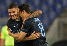 Taruhan Online Judi – Gelandang Inter Milan Merasa Tidak Enak – Gelandang Inter Milan, Hernanes menunjukkan selebrasi gol yang berbeda