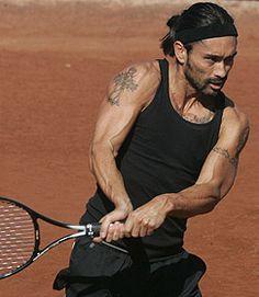Marcelo Ríos, tenista Nro. 1 a nivel mundial.