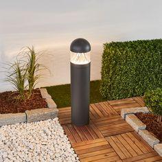 Rund LED-veilampe Meva Lamp, Path Lights, Dark Grey Color, Led, Lights, Outdoor Lighting, Light, Bright Led, Round