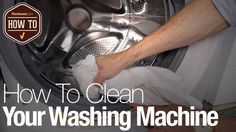 Your washer stinks, but it doesn't have to.