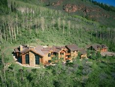 Spectacular Log Home In The Heart Of Castle Creek Valley. OMG this is so my dream home. I'm ready to move in today.