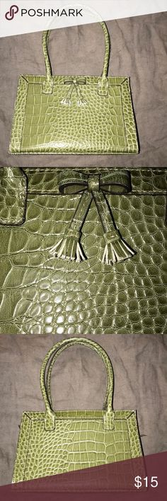Liz Claiborne Handbag Liz Claiborne Green Handbag Liz Claiborne Bags