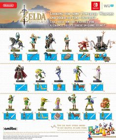Updated official @nintendo rare #amiibo drops chart for #BreathOfTheWild
