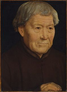 Portrait of an Old Man  |  ca. 1475  |  Hans Memling (Netherlandish)  |  Oil on wood  | The Metropolitan Museum of Art