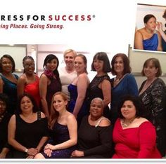 Check out these gorgeous women - styled in lia sophia by Kim Kardashian for Dress for Success. lia sophia helps raise funds for this non profit org that helps disadvantaged women have the right clothing to enter the business world and get better jobs.