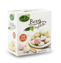 Bezy ksylitolki - 0% cukru (35 g) - Aka | Sklep AleDobre.pl