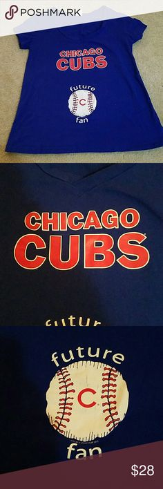 Maternity Cubs t-shirt Maternity Cubs t-shirt. With pictures, enough said. Go Cubbies! Tops Tees - Short Sleeve