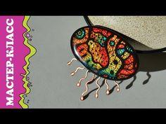 "Мастер-класс - Колье ""МЕДУЗА"" ✿ DIY - Necklace ""JELLYFISH"" ✿ ENG SUB - YouTube"