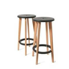 Lot de 2 tabourets de bar Harry's DRAWER - Tabouret de bar