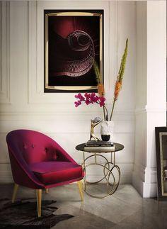 Luxus und Eleganz mit Samt Sesseln > Samt is wirklich elegant, oder? | samt | sessel | inneneinrichtung #wohndesign #inneneinrichtung #raffinesse Lesen Sie weiter: http://wohn-designtrend.de/luxus-und-eleganz-mit-samt-sesseln/