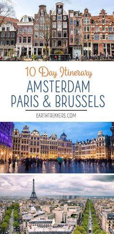 Amsterdam Brussels P