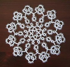 Anne Bruvold doily pattern