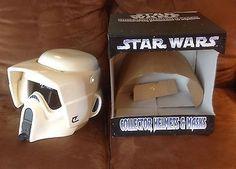 Star Wars Biker Scout Helmet by Don Post mask