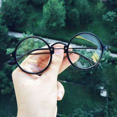 Retro Yuvarlak Gözlük